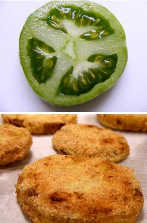 Sliced Green Tomatoes _ Fried Tomatoes
