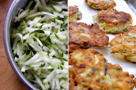 Zucchini Turkish Fritters - Fork Fingers Chopsticks