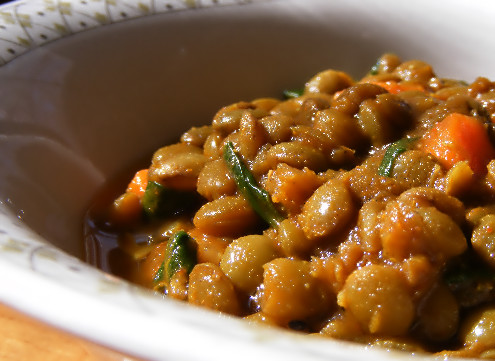 Indian-Style Red Lentils With Ginger (Red Lentil Dal) Recipes ...