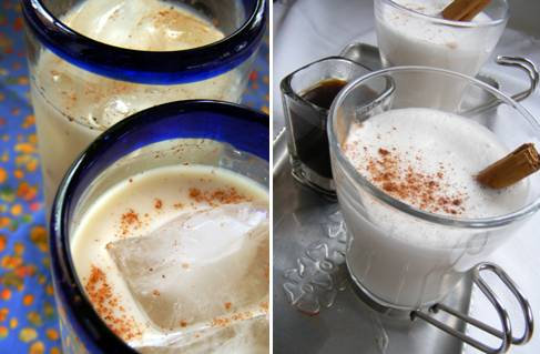 Horchata Rice Drink - Hot Cold -  ForkFingersChopsticks