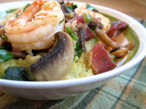 Shrimp and Grits-ForkFingersChopsticks.com