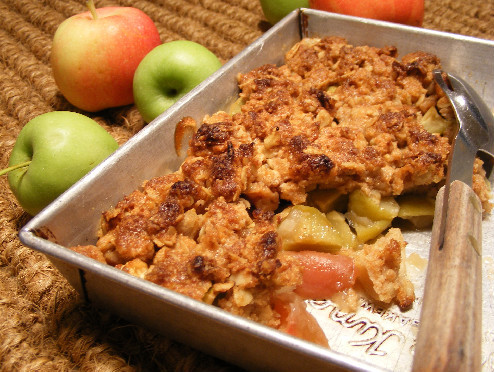 Apple Crisp Crumble - British American
